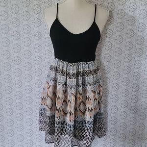 Modcloth Doe & Rae cutout dress size small